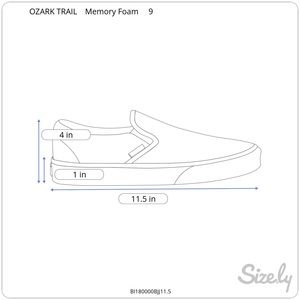 Ozark Trail Shoes - NWT OZARK TRAIL Men's Memory Foam Sandals Size 9